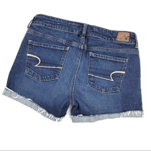American Eagle Outfitters Shorts - American Eagle Stretch Denim Cuffed Jean Shorts